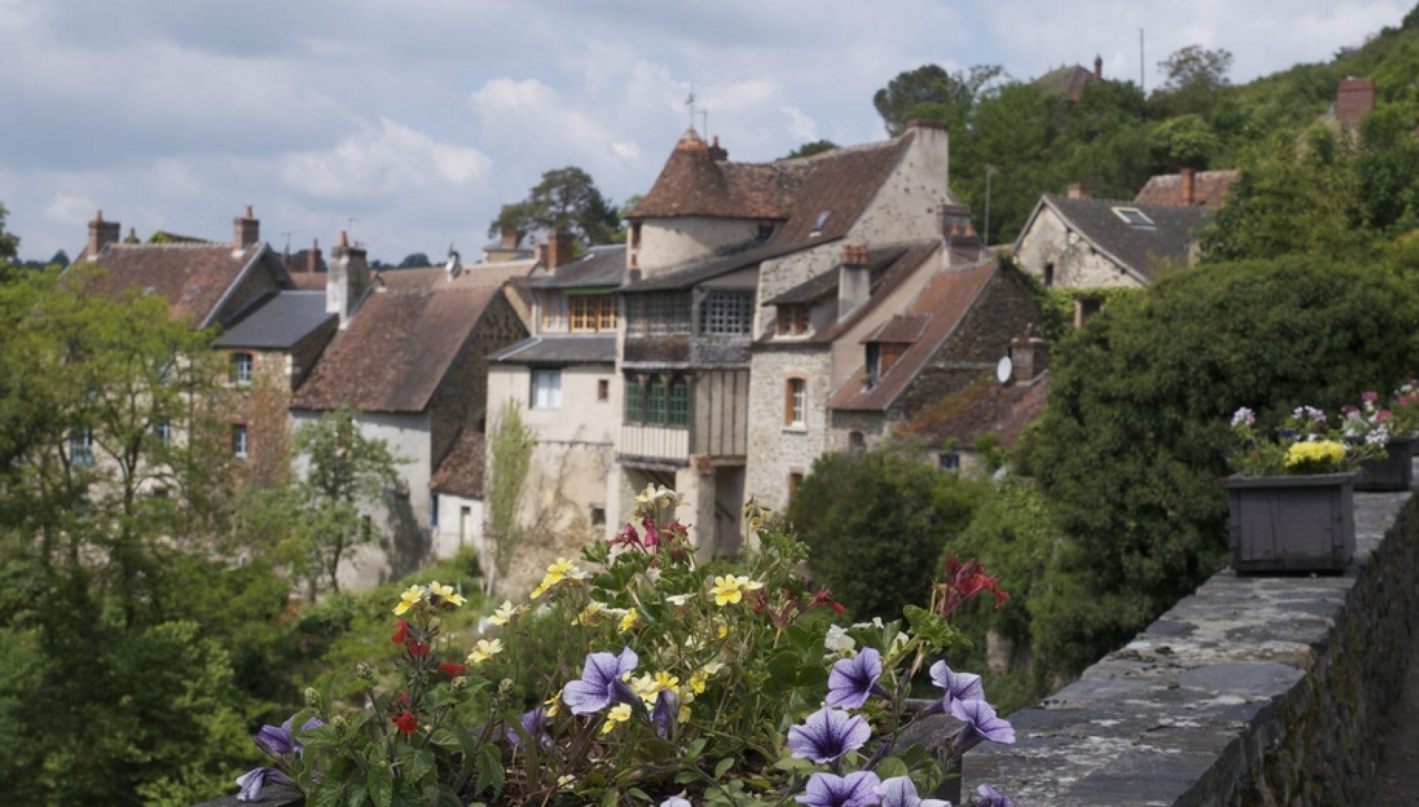 Gargilesse-Dampierre en Berry, classé parmi les plus beaux villages de France